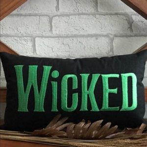 Wicked Standard Pillowcase Size Sham